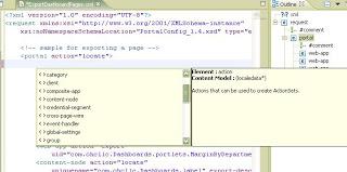 Importing XML Schema file for xmlAccess scripts
